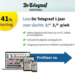 Telegraaf ereader