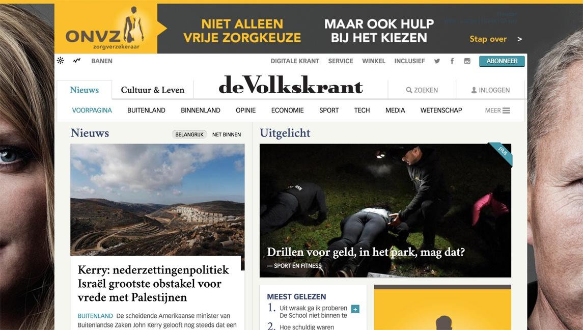 Volkskrant online app website