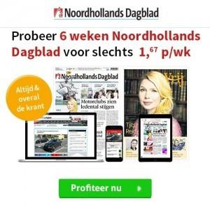 Noordhollands dagblad 6 weken