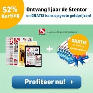 Stentor staatsloten jaar abonnement
