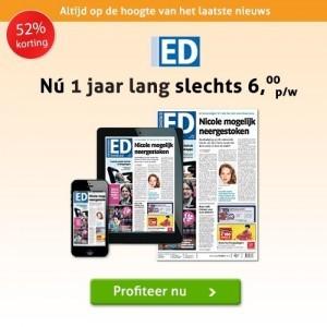 Jaarabonnement Eindhovens dagblad