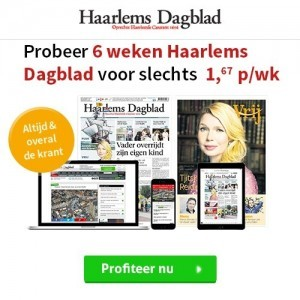 Haarlems dagblad 6 weken digitaal