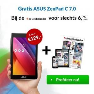 De Gelderlander ASUS tablet