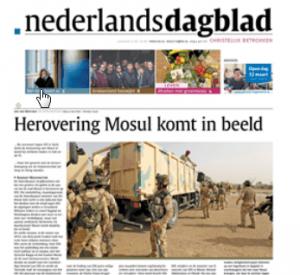 Nederlands Dagblad nieuws