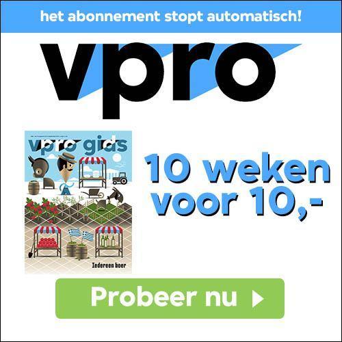 VPRO gids abonnement