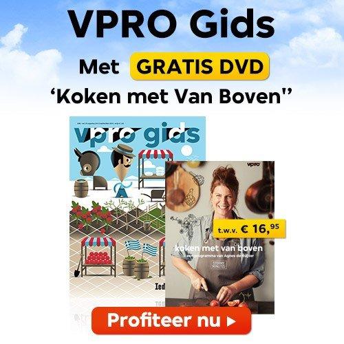 VPRO gids gratis DVD