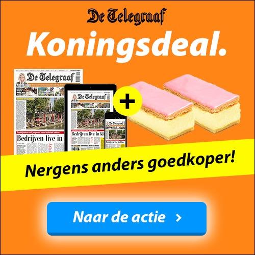 Telegraaf koningsdag abonnement