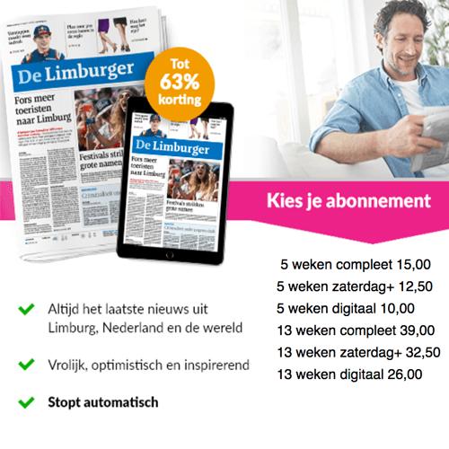 Dagblad de Limburger op proef