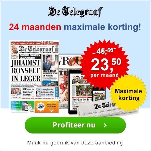 Telegraaf 24 maanden