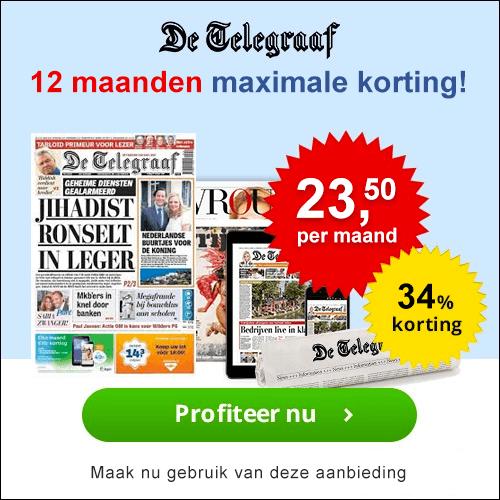 Telegraaf 12 maanden