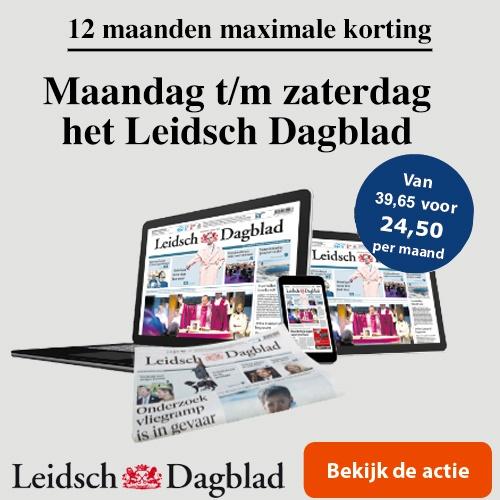 12 maanden het Leidsch Dagblad op papier