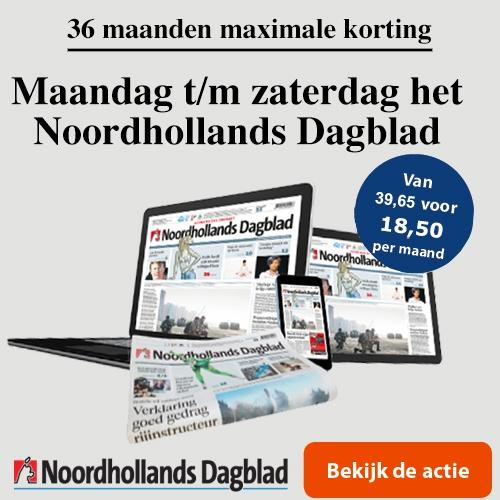 Maximale korting op het Noordhollands Dagblad