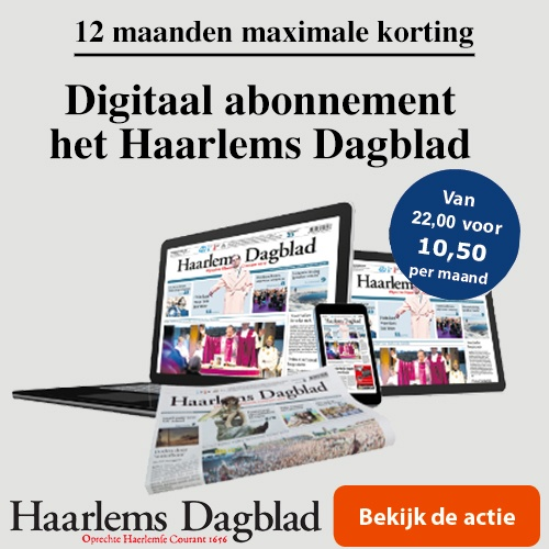 Digitale aanbieding 12 maanden Haarlems Dagblad