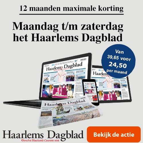 Aanbieding het Haarlems Dagblad 12 maanden
