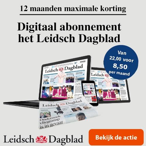 Digitaal 12 maanden een Leidsch Dagblad abonnement