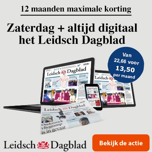 Leidsch Dagblad op zaterdag