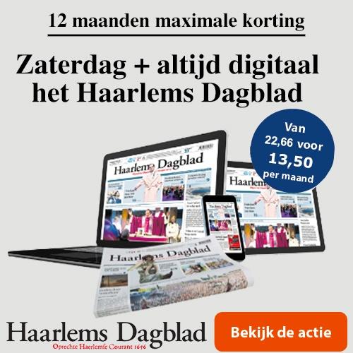 Nieuw abonenement Haarlems Dagblad op zaterdag