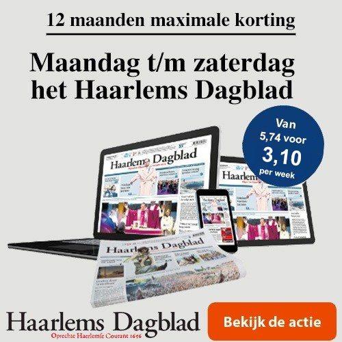 Nieuw abonnenement Haarlems Dagblad op zaterdag