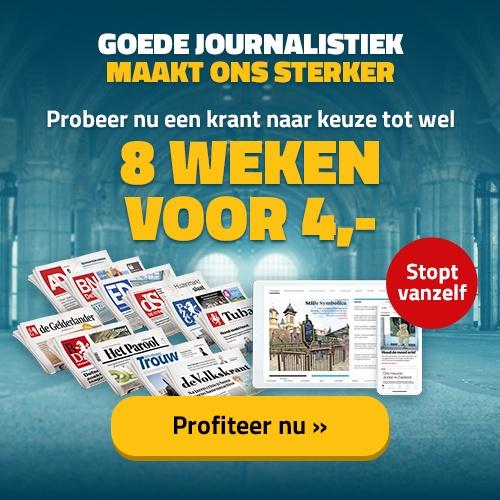 8 weken een krant!