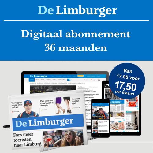De Limburger digitaal abonnement 36 maanden