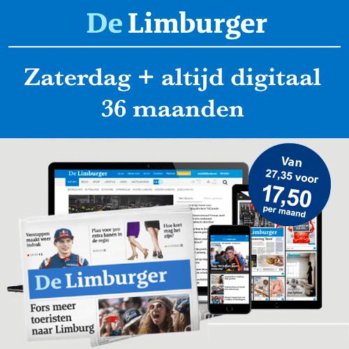 De Limburger 36 maanden op zaterdag