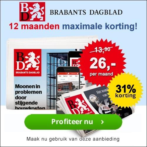 Brabants Dagblad jaarabonnement